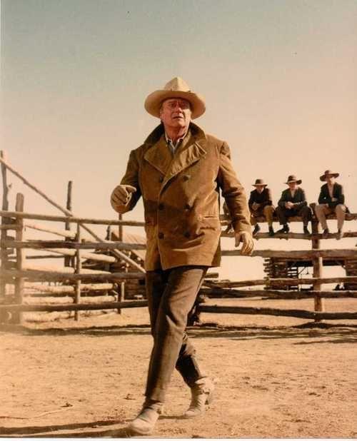 John Wayne in The Cowboys (1972)!! Love that movie!! Like if you like all John Wayne movies!!!!!!!!!!!