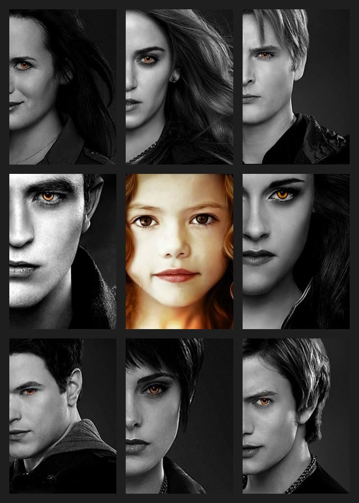 The Cullens - I would love to really know these people. although I feel like I do.