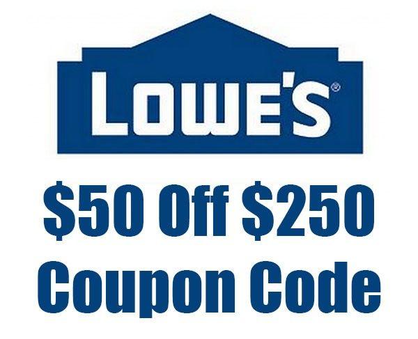 Hot Deal: $50 Off $250 Lowe's Coupon Code - Tool-Rank.com