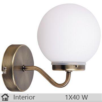 Aplica baie iluminat decorativ interior Rabalux, gama Togo, model 1302 http://www.etbm.ro/tag/687/iluminat-ieftin