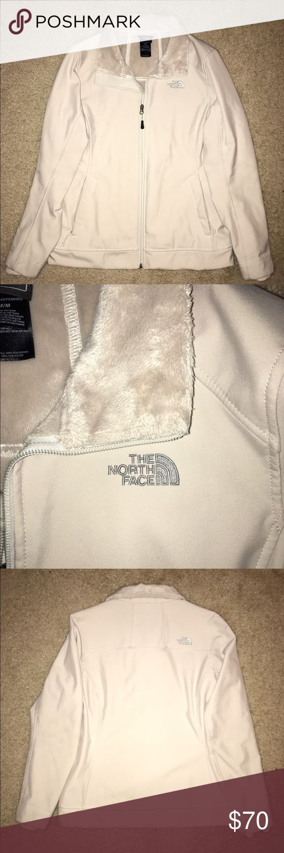 White North Face Jacket This north face is in perfect condition! North Face Jackets & Coats Utility Jackets