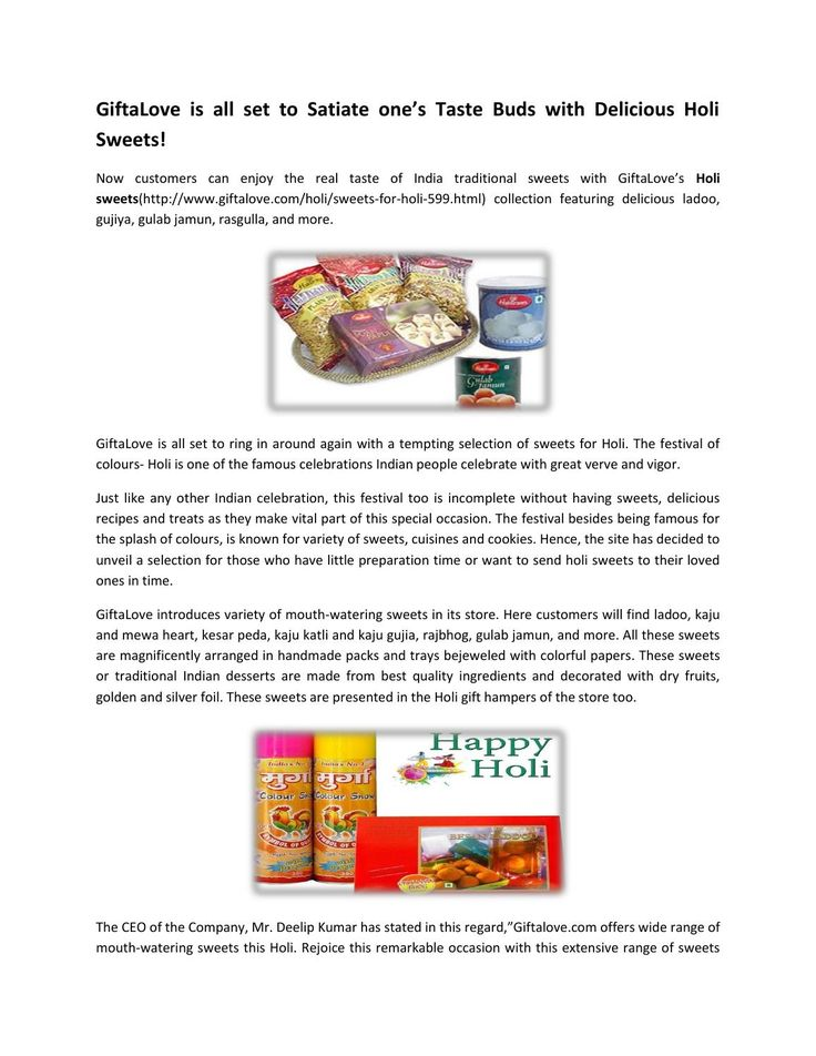 Sweets for holi at affordable price for holi celebration  Get online offers for holi celebration like combos & hampers for holi as mithai hamper, thandai hampers, flowers hamper, gujiya & namkeen hampers, colore & guns and so on.