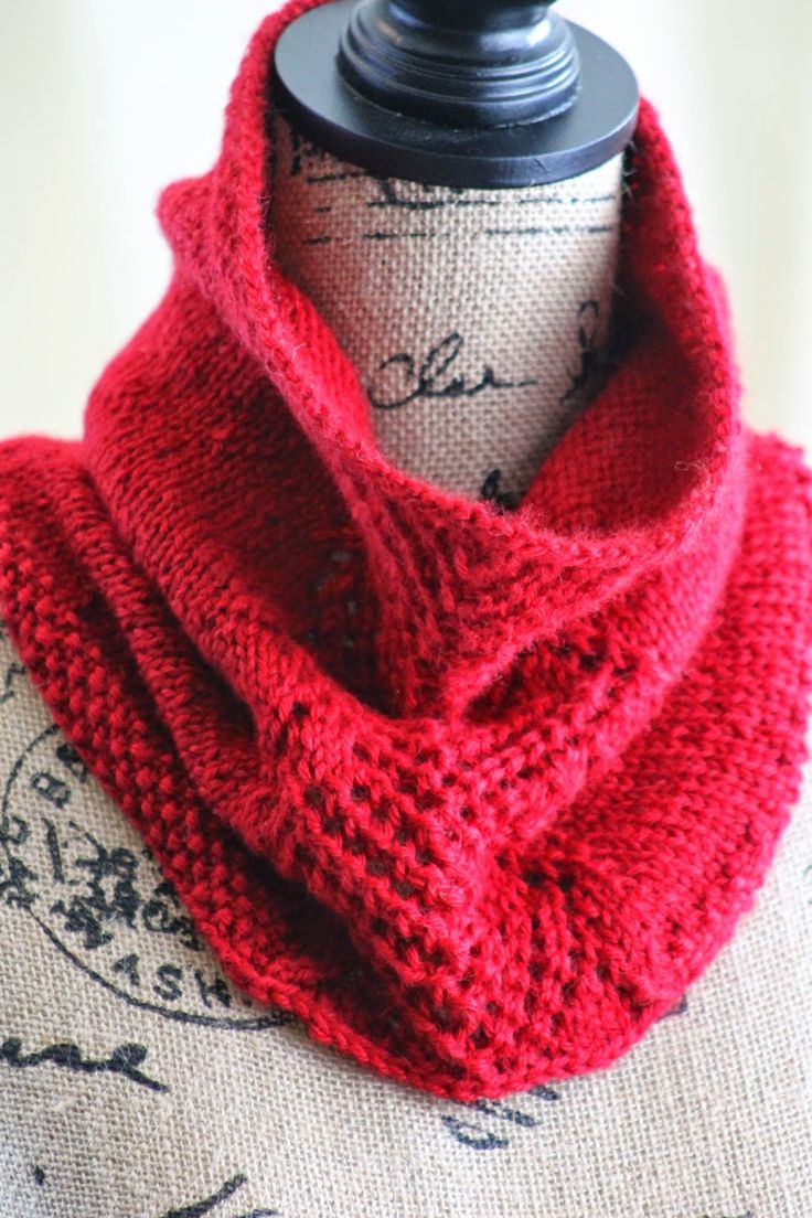 Knit Cowl Pattern Worsted Weight: Cowl knitting pattern work socks ...