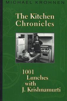 크리슈나무르티와 1001번의점심 | 1997년 출간, 302페이지 | 크리슈나무르티의 1001번의 점심 기록에는 그의 캘리포니아 집에서 친구들과 동료들과 함께 나눈 일상의 대화와 유머와 단순함이 음식 이야기와 함께 펼쳐진다.