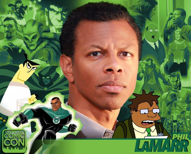*PIN to WIN* Meet Phil LaMarr at #SLCC16! MADtv, Futurama, Justice League, Samurai Jack, and more! #utah