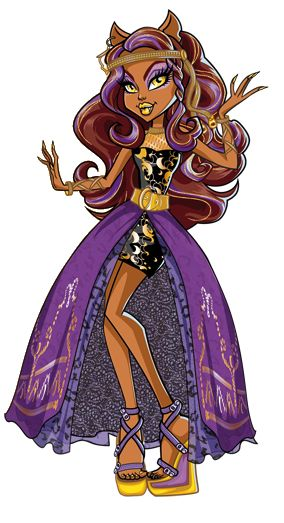 Monster High Artworks/PNG: Clawdeen Wolf