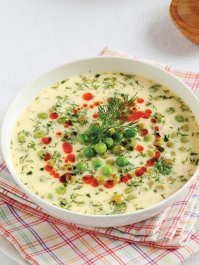 Patatesli bezelye çorbası Tarifi - Türk Mutfağı Yemekleri - Yemek Tarifleri