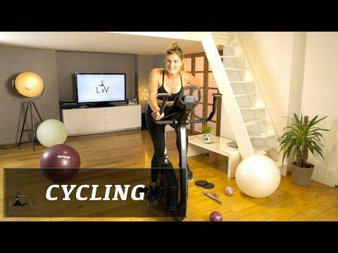 Vélo d'appartement - Entraînement complet de Lucile Woodward