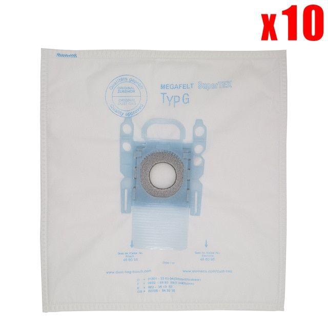 BBZ41FGXXL Vacuum Cleaner Bags, Pack