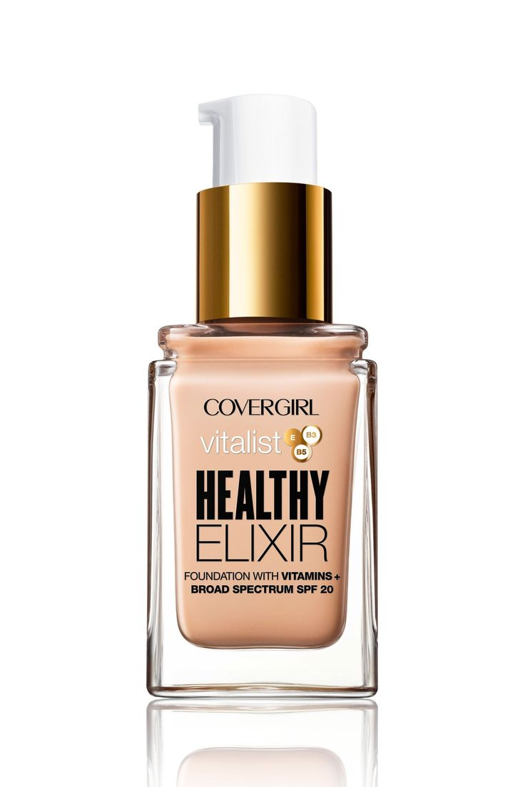 CoverGirl Vitalist Healthy Elixir Foundation - Cosmopolitan.com