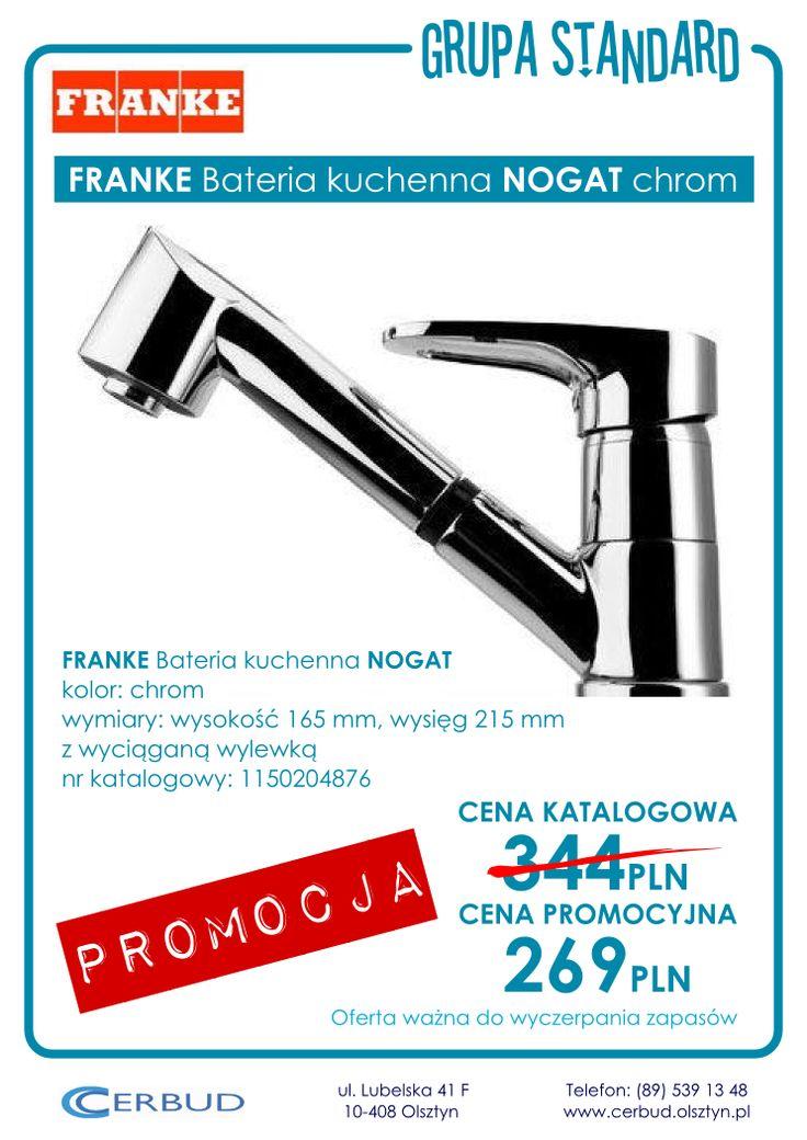 FRANKE Bateria kuchenna NOGAT chrom