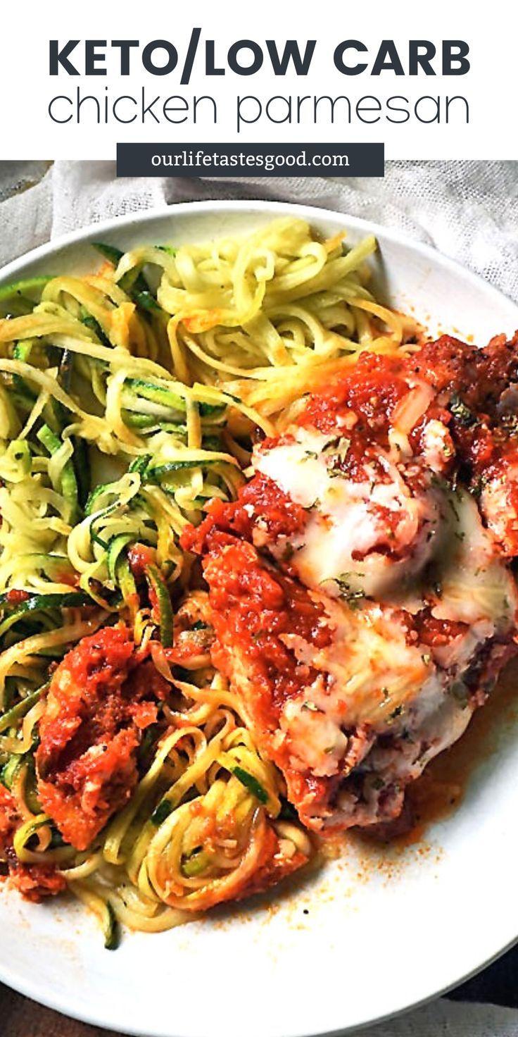 Keto Chicken Parmesan Best Chicken Recipes Low Carb Chicken Parmesan Yummy Chicken Recipes