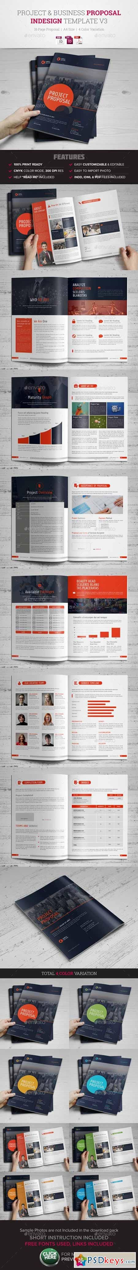 Project & Business Proposal Template v3 10499199