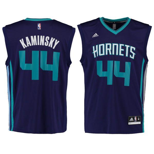 Frank Kaminsky Charlotte Hornets adidas Replica Jersey - Purple - XL
