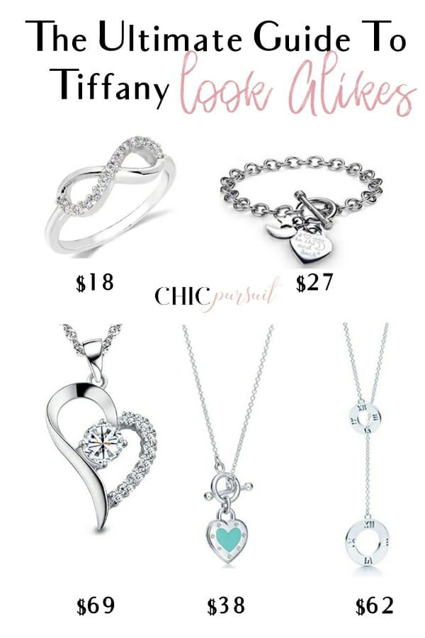 17+ Tiffany look alike jewelry uk information