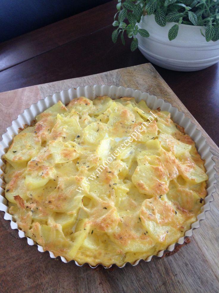 Ik had nog een halve zak aardappelen over en bedacht me eens wat ik hiermee zou kunnen maken. Het werd deze heerlijke aardappeltaart voor de jongens, waar zij overigens 2 dagen van gegeten hebben. …