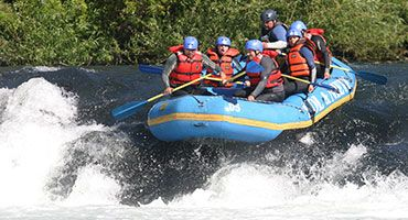 White water rafting, Pucon http://www.solynievepucon.cl/our-adventures/river-rafting