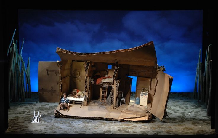 Cardboard Box Set Sc In 2019 Stage Design Set Design