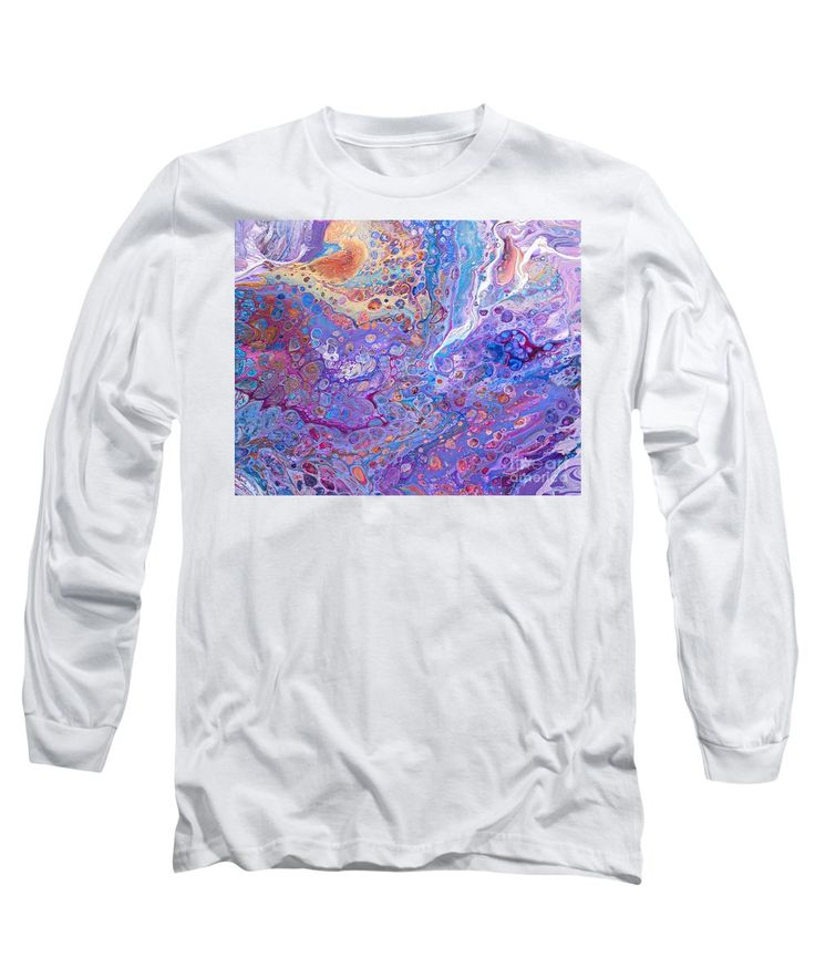 Purchase a long-sleeve t-shirt featuring the image of #151 Pour Nirvana by Expressionistart studio Priscilla Batzell.  Available in sizes S - XXL.  Each t-shirt is printed on-demand, ships within 1 - 2 business days, and comes with a 30-day money-back guarantee.