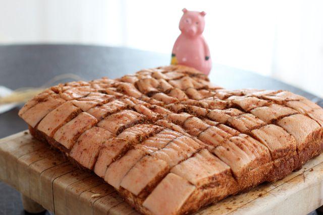 burta de porc condiment bavarez