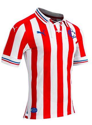 Chivas Guadalajara F.C. 110 Retro Jersey 16/17