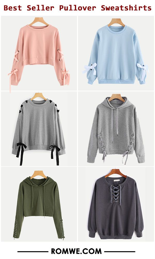 523d92e48be9 Best Seller Pullover Sweatshirts - romwe.com