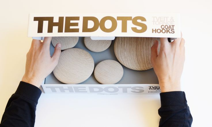 The great feeling of unpacking a new set of Muuto DOTS.  Style all your walls with Muuto classic design - The Dots.