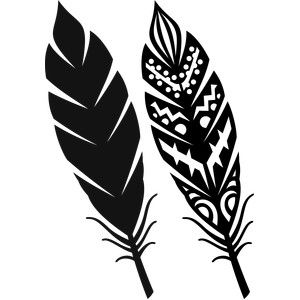 Silueta tienda de diseño - Diseño # 146609 Vista: Pluma tribal
