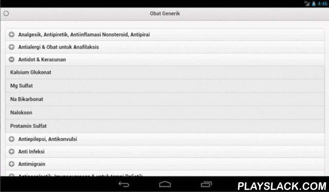 Obat Generik  Android App - playslack.com , Obat Generik adalah nama obat yang sama dengan zat aktif berkhasiat yang dikandungnya, sesuai nama resmi International Non Propietary Names yang telah di tetapkan dalam Farmakope Indonesia. Contohnya: Parasetamol, Antalgin, Asam Mefenamat, Amoksisilin, Cefadroxyl, Loratadine, Ketoconazole, Acyclovir, dan lain-lain. Obat-obat tersebut sama persis antara nama yang tertera di kemasan dengan kandungan zat aktifnya.Obat ini banyak beredar di…
