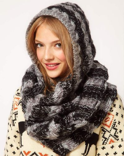 d219ecb48f4 modele tricot gratuit echarpe capuche
