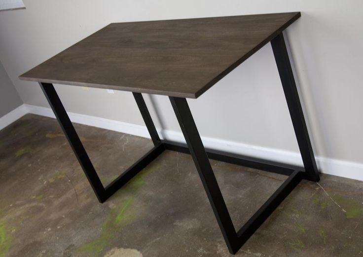 modern furniture making. small modern urban desk handmade and customizable reclaimed wood options available steel furniture makingunique making
