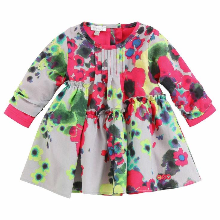 Confetti Flower-printed percale dress | Melijoe.com