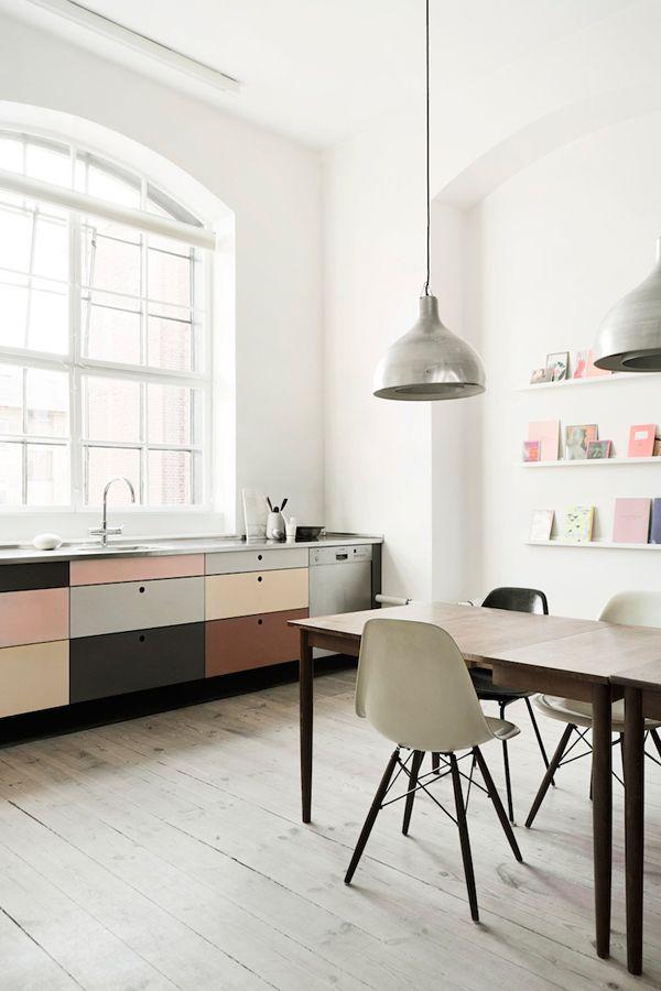 pastel tones kitchen