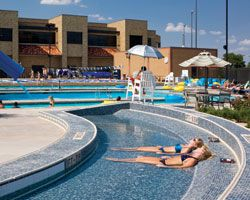 Underwater Chaise Lounge a Draw at Texas Tech - Athletic Business