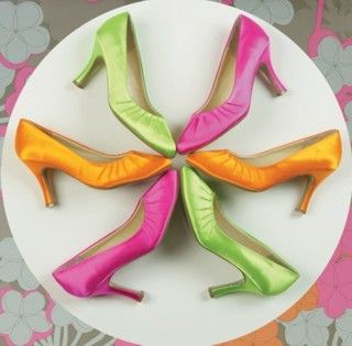 You always had to have custom dyed shoes to match your prom dress!!!