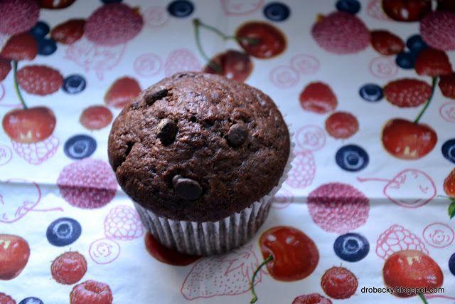 drobečky: Čokoládové muffiny jako ze Starbucksu