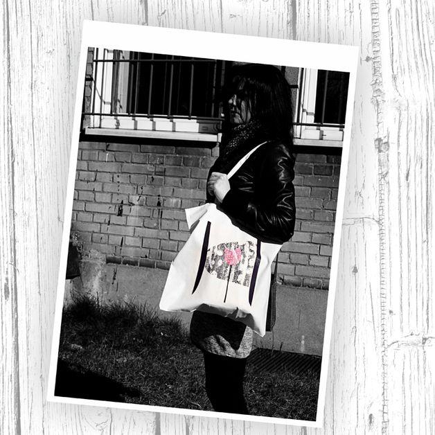 Другое - Хлопок хозяйственная сумка - уникальный продукт по ParallelWorld на DaWanda