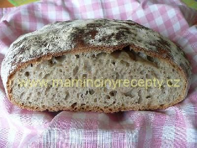 Chleba bez hnětení (á la NY Times)