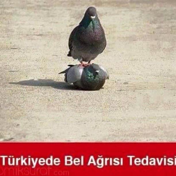 Türkiye'de bel ağrısı tedavisi. :)