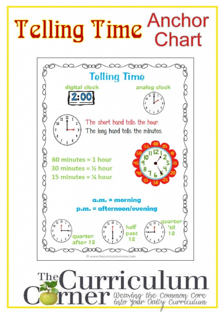 352 Best Teaching Time Images On Pinterest | Teaching Time