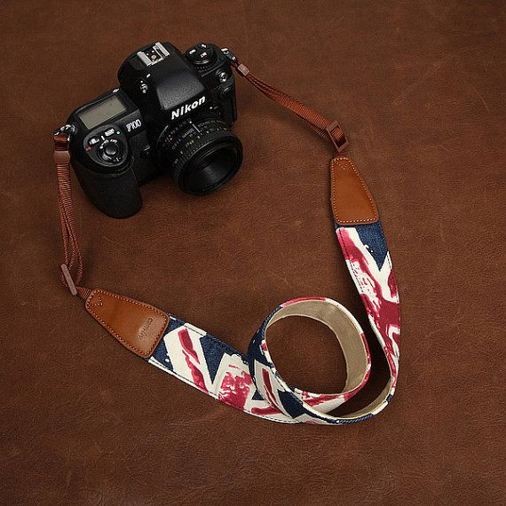 The DSLR Camera Strap  Nikon Camera Strap  by camerasbagstraps, $32.99