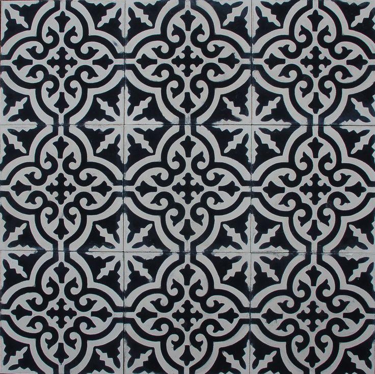 Marrakech design - Voltaire svartvit