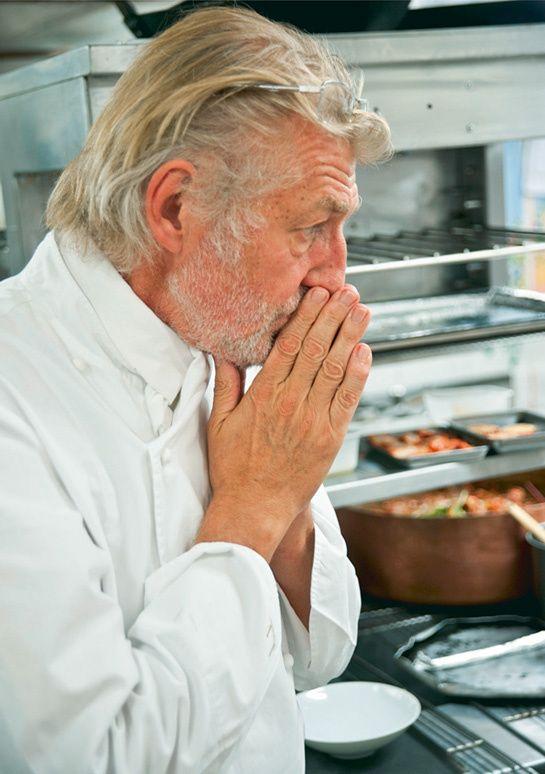 Une matinée dans les cuisines du chef Pierre Gagnaire