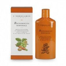 Napozás utáni színmegőrző tusfürdő sárgarépával és dióval - Rendeld meg online! Lerbolario Naturkozmetikumok http://lerbolario-naturkozmetikumok.hu/kategoriak/napozo-termekek