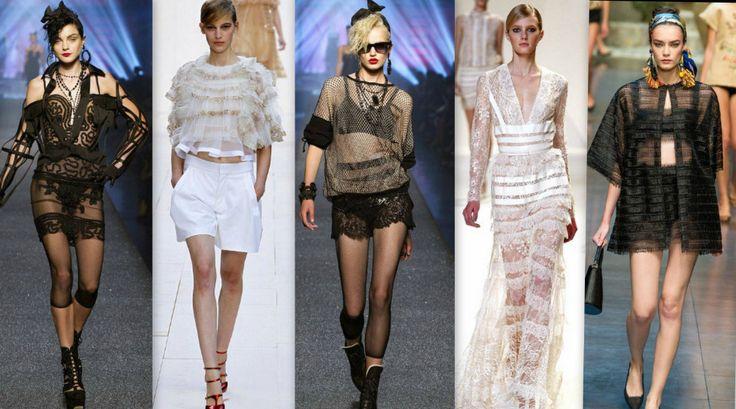 Zamanla yaygınlaşan transparan giyim stillerini artık tişörtlerde ve hatta günlük kıyafetlerde bile görmek mümkün. 😍