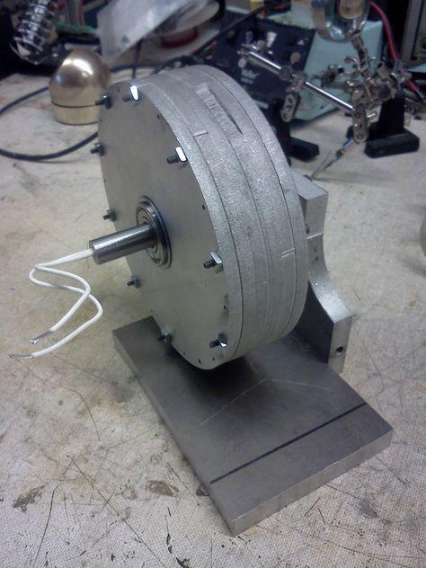 Transverse Flux Electric Motor