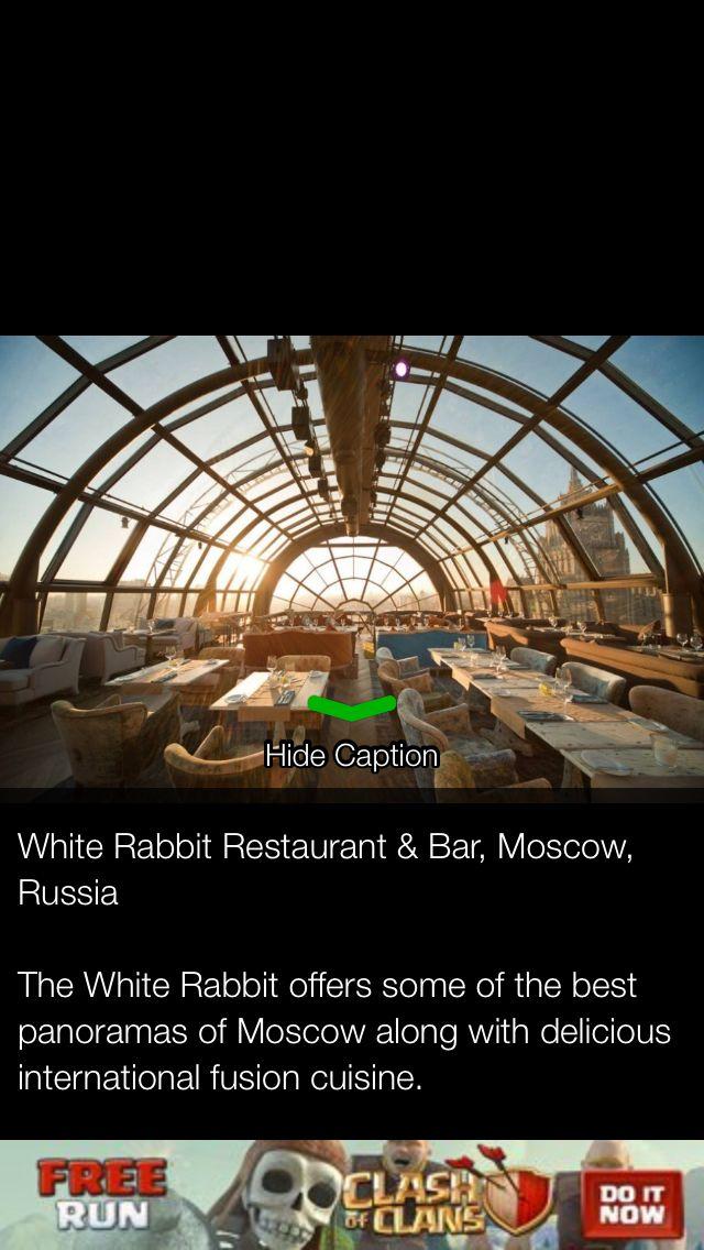 White rabbit bar, Moscow