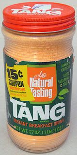 Tang Instant Breakfast Drink - a staple for breakfast out of the trunk of the car when driving all the way to Florida from NY.