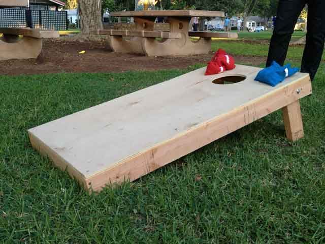 How To Build A Bean Bag Toss Board Diy I Do Not Claim Ownership Any Of This Boards