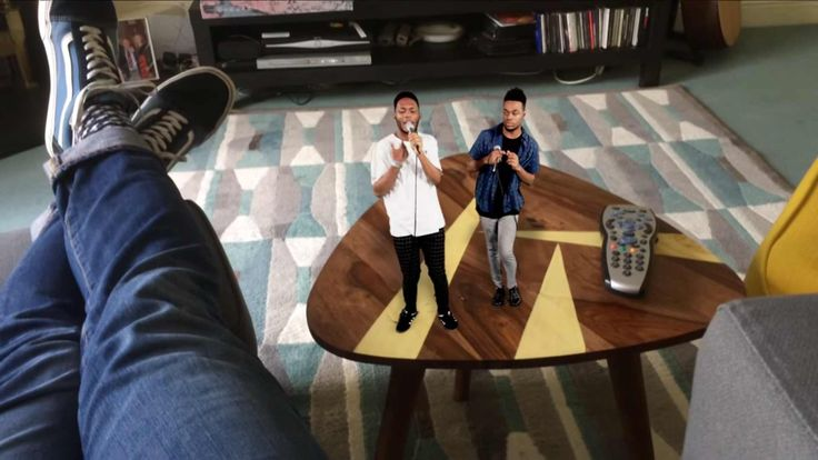 Concert in your Living Room with AR by FIRSTAGE